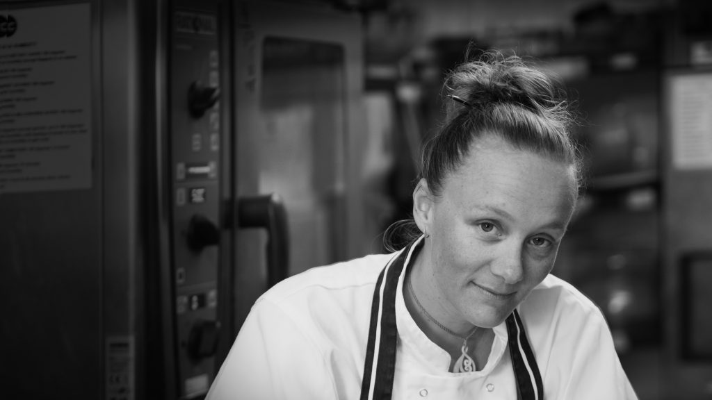 Kirsten Gilmour - Owner and head chef of the mountain cafe