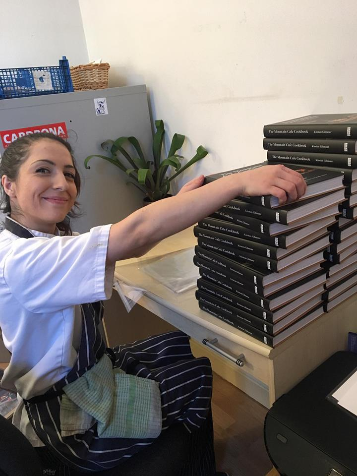Ana the Cookbook packaging legend