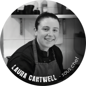 Laura Cantwell sous chef