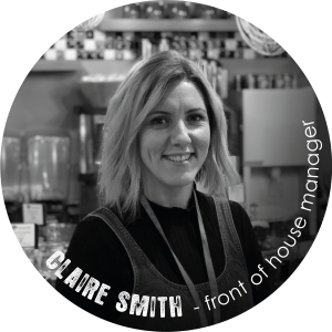 Claire Smith front of house manager