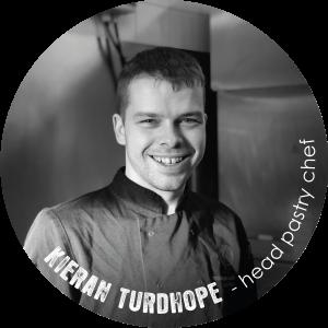 Kieran Turdhope head pastry chef