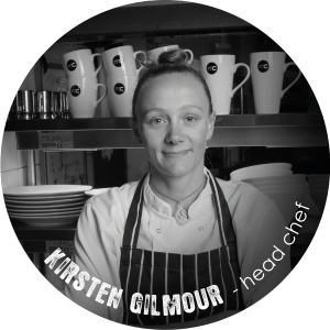 Kirsten Gilmour - head chef